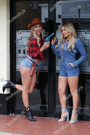 Stock Picture of Ruby Lacey & Amber Dowding