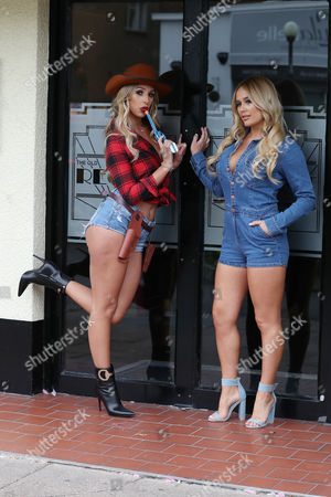 Editorial picture of 'The Only Way is Essex' TV show filming, Essex, UK - 30 Aug 2017