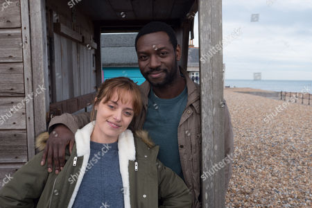(Ep 1) - Richie Campbell as Liam Sutcliffe and Zoe Tapper as Katy Sutcliffe.