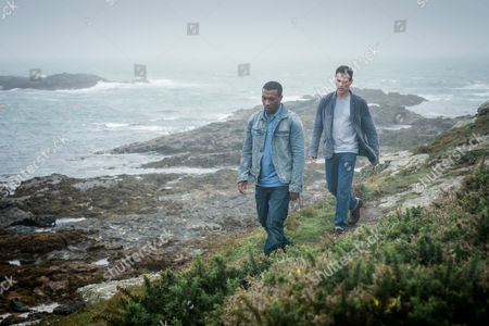 (Ep 2) - Stephen Moyer as Tom Brook and Ashley Walters as John Channing.