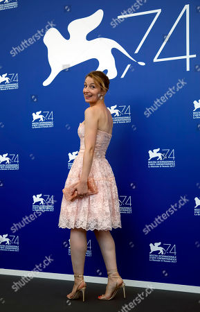 Stock Image of Actress Anamaria Marinca poses during the photo call for the film Nico at the 74th edition of the Venice Film Festival in Venice