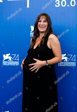 Stock Picture of Actress Karina Fernandez poses during the photo call for the film Nico at the 74th edition of the Venice Film Festival in Venice