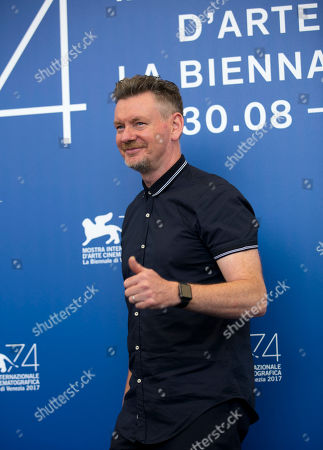 Actor John Gordon Sinclair poses during the photo call for the film Nico at the 74th edition of the Venice Film Festival in Venice