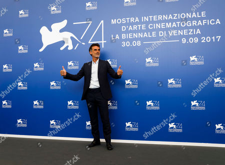 "Actor Thomas Trabacchi pose during the photo call for the film ""Nico,1988"" at the 74th edition of the Venice Film Festival in Venice"