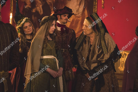 (SR2, Ep 3) - Bebe Cave as Wilhemina Coke and Dame Diana Rigg as Duchess of Buccleuch.