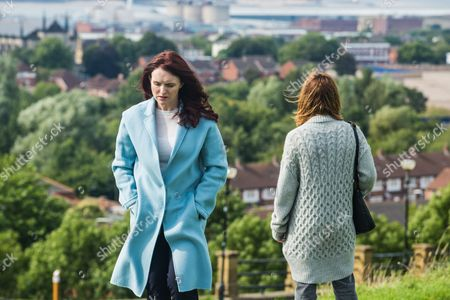 (Ep 3) - Dervla Kirwan as Elizabeth and Zoe Tapper as Sam.