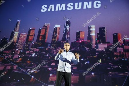 Editorial image of Samsung press conference at the IFA in Berlin, Germany - 30 Aug 2017