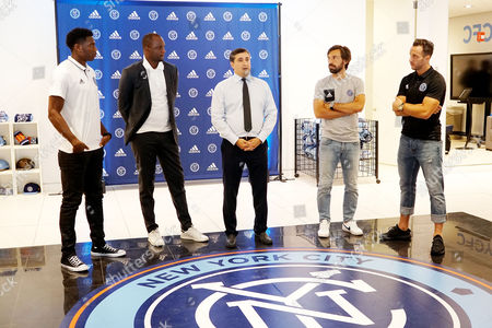 Editorial image of NYCFC House #nycfchouse Opening at 446 W 14th St, New York, USA - 30 Aug 2017