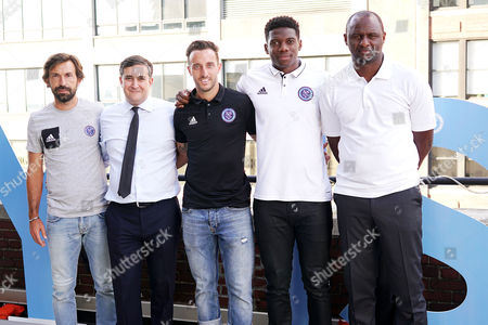 Editorial picture of NYCFC House #nycfchouse Opening at 446 W 14th St, New York, USA - 30 Aug 2017
