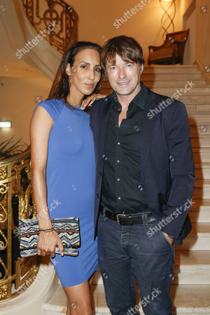 Bruno Eyron and partner Friederike