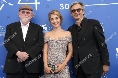 Richard Bausch, Alice Isaaz and Gilles Bourdos