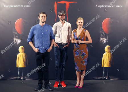 Javier Botet, Andres Muschietti and Barbara Muschietti