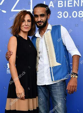 Actors Khalifa Abo Khraisse (R) and Valentina Carnelutti pose during a photocall for 'L'Ordine delle Cose'' at the 74th annual Venice International Film Festival, in Venice, Italy, 31 August 2017. The movie is presented in the 'Proiezioni Speciali' section at the festival running from 30 August to 09 September.