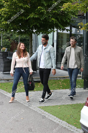 Stock Picture of Dan Edgar, James Bennewith and Wendy Edgar