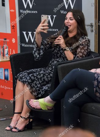 Editorial photo of Victoria Aveyard 'King's Cage' book photocall, London, UK - 31 Aug 2017