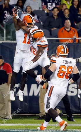 Editorial image of Browns Bears Football, Chicago, USA - 31 Aug 2017