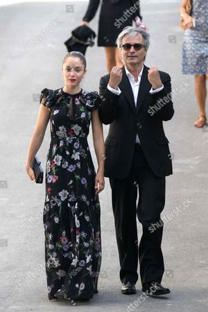 Stock Image of Alice Isaaz and Gilles Bourdos