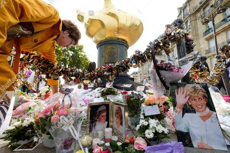 Editorial picture of 20th Anniversary of the death of Princess Diana, Paris, France - 31 Aug 2017