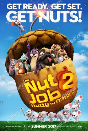 The Nut Job 2: Nutty by Nature (2017) Poster Art