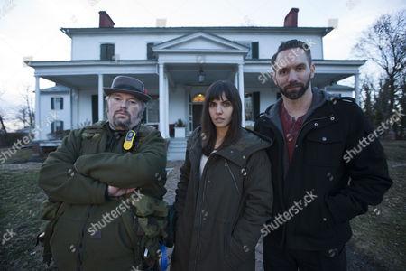 Bill Hartley, Elizabeth Saint, Nick Groff