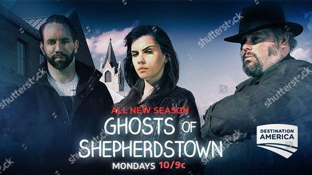 """Editorial image of """"Ghosts Of Shepherdstown"""" (Season 2) TV Series - 2017"""