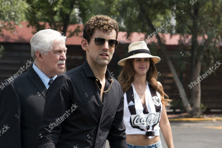Stock Picture of Juan Luis Orendain, Luis Gerardo Mendez, Stephanie Cayo
