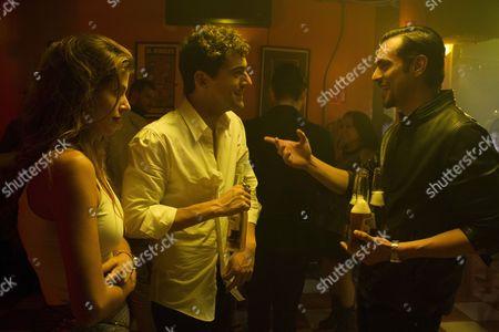 Stock Photo of Stephanie Cayo, Luis Gerardo Mendez, Carlos Armella