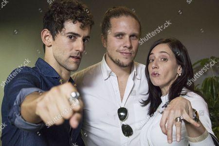 Stock Photo of Luis Gerardo Mendez, Gary Alazraki, Mariana Treviño