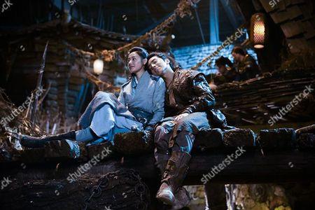 Stock Image of Tianai Zhang, Darren Wang