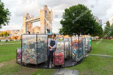 Stock Picture of 'Future Dust' installation by Maria Arceo