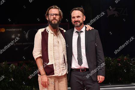 The director Andrea Segre and Paolo Pierobon