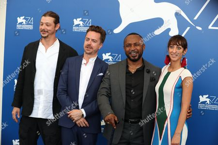 Editorial image of ''This Is Congo' photocall, 74th Venice International Film Festival, Italy - 01 Sep 2017