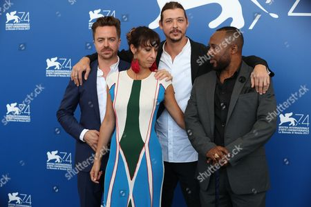 Editorial picture of ''This Is Congo' photocall, 74th Venice International Film Festival, Italy - 01 Sep 2017