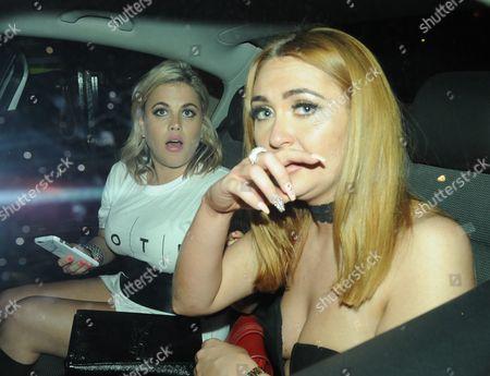 Charlotte Dawson and Nadia Essex