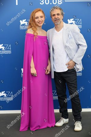 Editorial photo of 'Invisible' photocall, 74th Venice International Film Festival, Italy - 01 Sep 2017