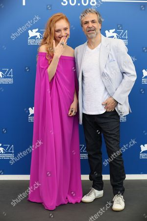 Editorial image of 'Invisible' photocall, 74th Venice International Film Festival, Italy - 01 Sep 2017