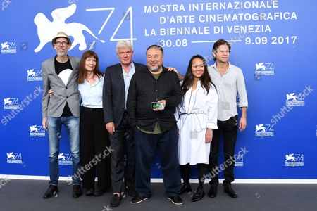 Ai Weiwei, Chin-Chin Yap, Heinz Georg Kramm Deckert, Diane Weyermann, Andy Cohen, Niels Pagh Andersen, Paolo Del Brocco
