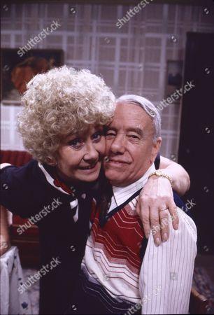 Elizabeth Dawn (as Vera Duckworth) and Harold Goodwin (as Joss Shackleton)