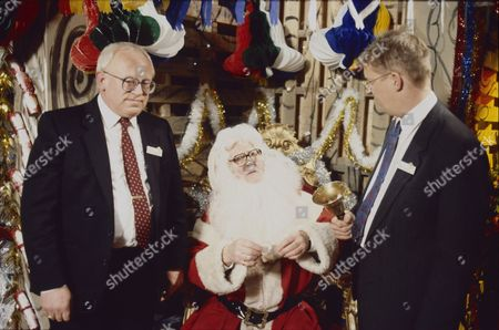 Ken Morley (as Reg Holdsworth), Bill Waddington (as Percy Sugden) and Kevin Kennedy (as Curly Watts)