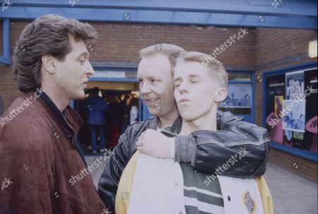Tommy Boyle (as Phil Jennings), Cast member and Nicholas Cochrane (as Andy McDonald)