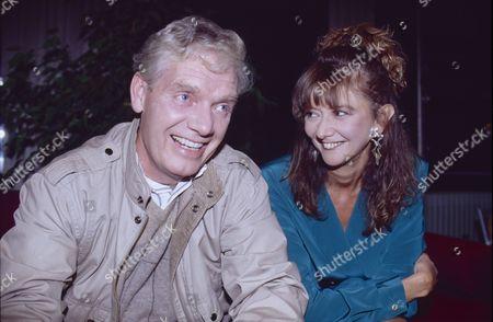 Geoff Hinsliff (as Don Brennan) and Sue Elliot (as Julie Dewhurst)