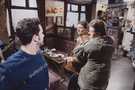 Stuart Wolfenden (as Mark Casey), Philip Middlemiss (as Des Barnes) and Charles Lawson (as Jim McDonald)