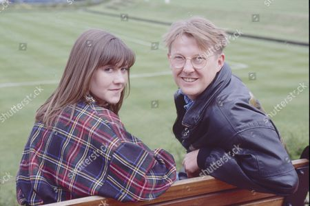 Deborah McAndrew (as Angie Freeman) and Kevin Kennedy (as Curly Watts)