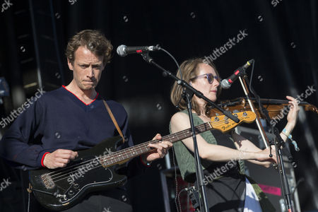 Stock Picture of British Sea Power - Neil Wilkinson and Abi Fry