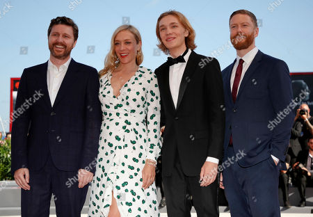 Editorial photo of Film Festival Lean On Pete Red Carpet, Venice, Italy - 01 Sep 2017