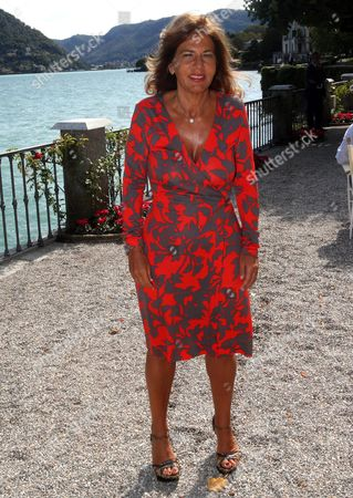 Emma Marcegaglia, President of multinational Oil & Gas company ENI, during the forum 'The Today and Tomorrow's Competitive Strategies' organized by 'The European House - Ambrosetti' at Villa d'Este in Cernobbio, Italy, 01 September 2017. The 43rd edition of the meeting takes place between 01 and 03 September 2017.
