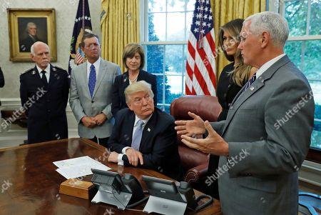 Editorial photo of Harvey Trump, Washington, USA - 01 Sep 2017