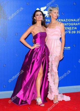 Isabeli Fontana and Karolina Kurkova