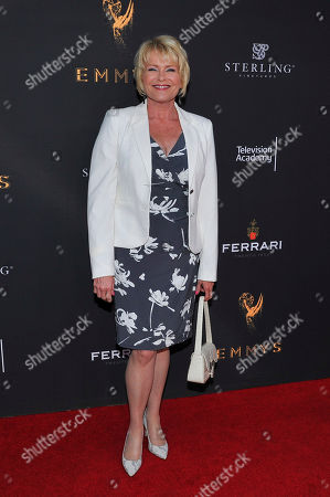 Judi Evans attends The Television Academy's 2017 Daytime Television Peer Group Celebration at the Saban Media Center, in North Hollywood, Calif