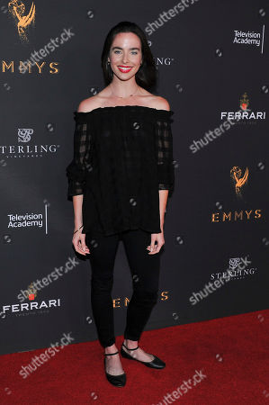 Ashleigh Brewer attends The Television Academy's 2017 Daytime Television Peer Group Celebration at the Saban Media Center, in North Hollywood, Calif